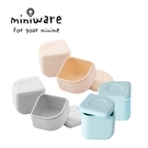 Miniware 美國防漏矽膠分裝盒(2入/組) 天然寶貝兒童學習餐具系列-多款任選