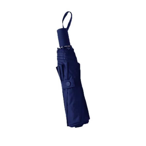 純色防曬 黑膠三折 晴雨兩用傘 折傘 防曬 防紫外線 折疊雨傘 便攜迷你