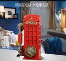 古制工藝-英國電話亭古董旋轉撥號  仿古老式電話機復古轉盤座機  預購10天+現貨