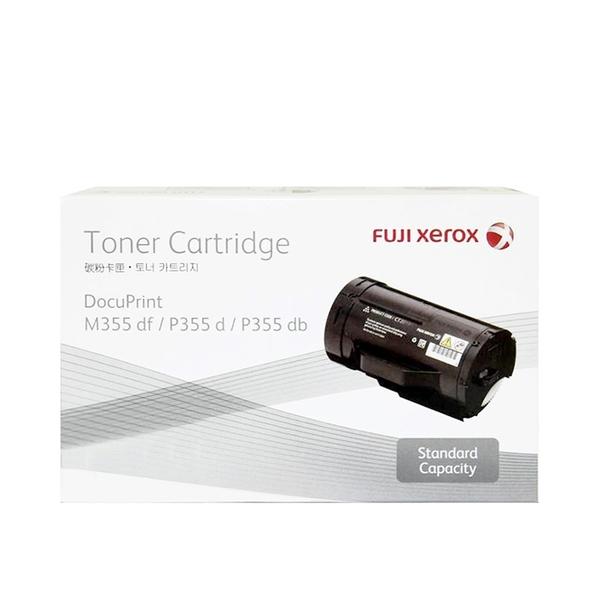 原廠碳粉匣 FUJI XEROX 黑色 標準容量 CT201937 (4K) /適用 富士全錄 DocuPrint M355df/M355/P355d/P355