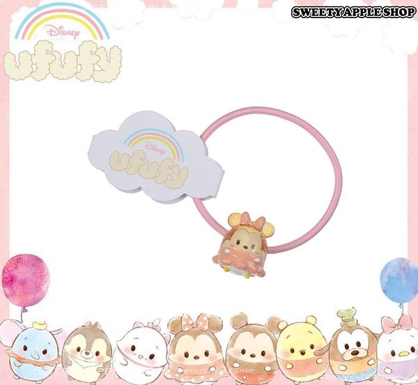 日本 Disney Store 迪士尼商店 限定 ufufy 米妮  糖果風 玩偶髮束