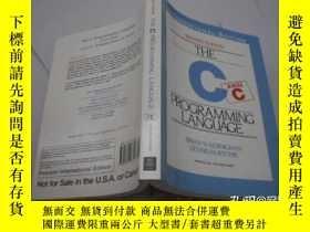 二手書博民逛書店THE罕見C PROGRAMMING LANGUAGEY9740 Brian W. Kernighan;Den