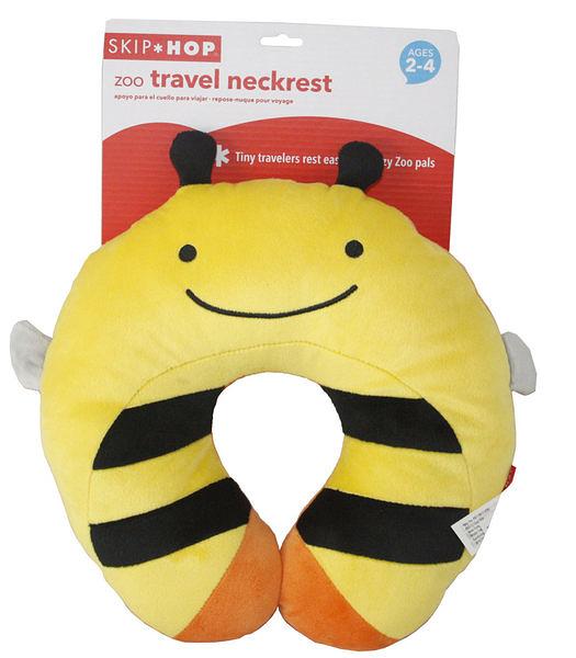 美國Skip Hop 可愛動物旅行枕 小蜜蜂-超級BABY