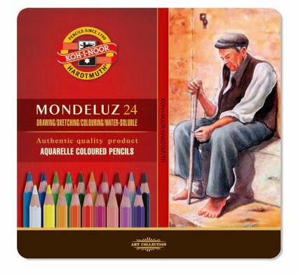 捷克製KOH-I-NOR24C 水性色鉛筆*3724