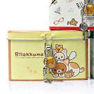 日本拉拉熊方形存錢筒 黃色 Rilakkuma 存錢桶 韓國製造 SAN-X 懶懶熊 里和家居 Riho