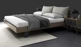 床架 北歐床現代簡約1.5米雙人床北歐風實木床1.8經濟原木床架主臥婚床