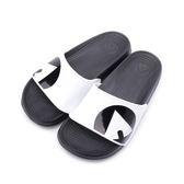 AIRWALK 輕量EVA套式拖鞋 白黑 A511220200 男女鞋 鞋全家福