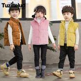 雙12購物節男童棉衣馬甲冬裝2018新款兒童加厚馬夾外套小童女寶寶中大童韓版mandyc衣間