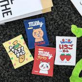 全館85折韓國chic風原宿可愛卡通牛奶零食糖果PU皮零錢包小包硬幣包卡包 森活雜貨