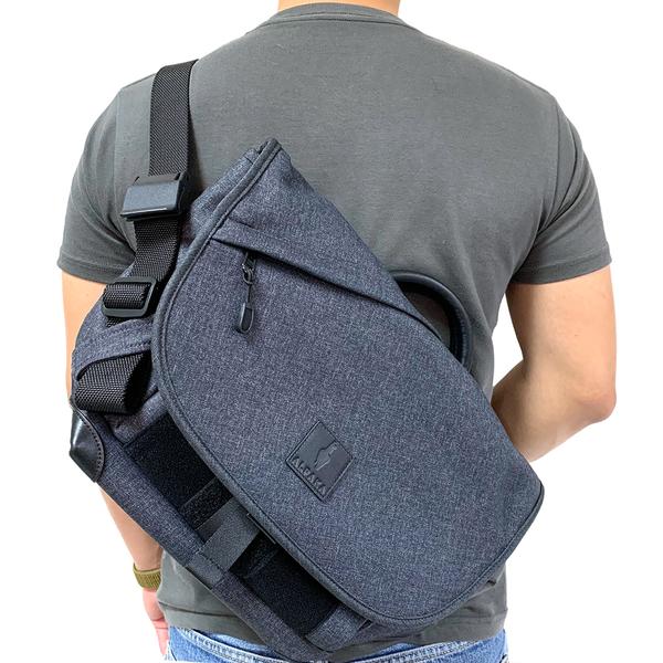 澳洲ALPAKA 7VEN mini 防水多功能郵差包 側背包 隨身包 黑/灰/棕 都市輕旅行必備