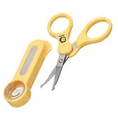 小獅王辛巴 Simba 放大鏡嬰兒指甲剪刀 曲面 1738 安全指甲剪