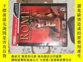二手書博民逛書店Rome:罕見Total War 羅馬2 :全面戰爭 攻略Y28