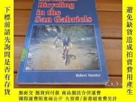 二手書博民逛書店Mountain罕見bicycling in the San G