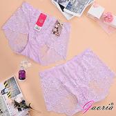 性感衣褲 情趣睡衣【Gaoria】性感蜜臀 蕾絲網紗 性感情趣三角內褲 淺紫