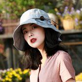 遮陽帽帽女冬季遮陽帽女防曬太陽帽夏遮臉出遊百搭折疊防紫外線