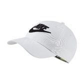 Nike 帽子 NSW Heritage86 Cap 白 黑 女款 老帽 運動休閒 【PUMP306】 CQ9222-100