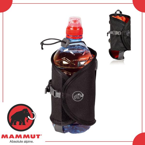 【MAMMUT ADD-ON BOTTLE HOLDER 水壺袋《黑》】2530-00100/水壺套/外掛袋/水瓶外掛袋