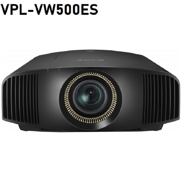 《燈泡已更換全新》福利展示品無損傷 SONY VPL-VW500ES 旗艦家庭劇院4K 投影機 ~購買日起享保固