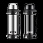 保溫杯男大容量保溫水壺熱水瓶戶外便攜車載旅行暖水杯2L 黛尼時尚精品