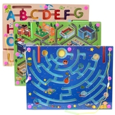 巧之木運筆磁性迷宮走珠玩具