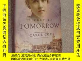 二手書博民逛書店Ticket罕見to Tomorrow (a romance m