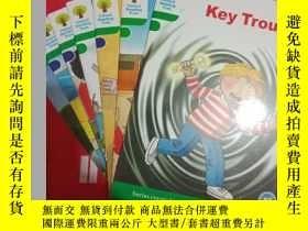 二手書博民逛書店Key罕見Trouble英文童書9~6至9~12共計7本合售見圖