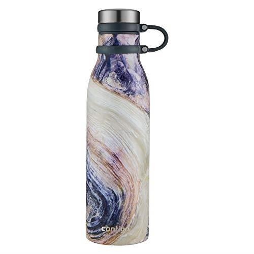 【美國代購】Contigo 2045469 Couture THERMALOCK真空絕緣不銹鋼水瓶,20盎司,暮光之城殼