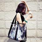 透明包沙灘包水晶包女包透視果凍大包包側背包子母包  黛尼時尚精品