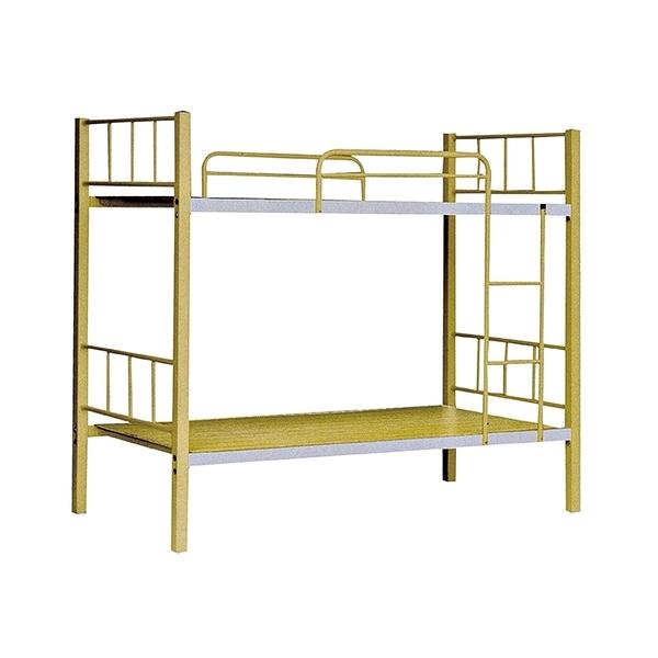 米黃色3尺雙鐵床(18SP/088-3)【DD House】