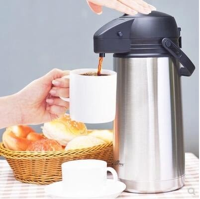 【1.6L【不銹鋼內膽】】daydays真空不銹鋼內膽保溫壺氣壓式熱水瓶