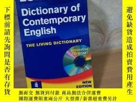 二手書博民逛書店Longman罕見Dictionary of Contemporary English 附光盤Y270870