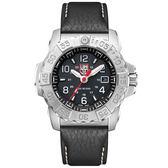 LUMINOX 雷明時NAVY SEAL STEEL 3250全新海豹2代鐵漢系列腕錶-黑x白時標/45mm A3251