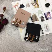 小清個性女生錢包韓國零折錢短夾 【東京衣秀】