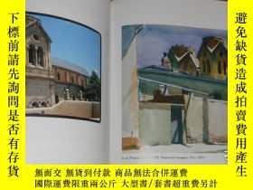 二手書博民逛書店2手英文平裝罕見Edward Hopper s Places 愛