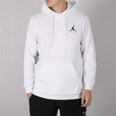 Nike Jordan Fleece Hoodie 白 黑 刷毛 帽T 英文logo 男 939987-100 ☆SP☆