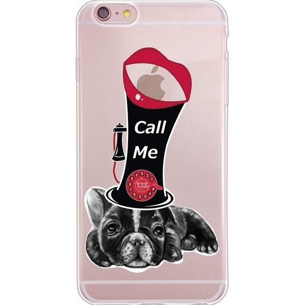 設計師版權【狗臉的歲月 -CALL ME】系列:TPU手機保護殼(iPhone、ASUS、LG、小米)