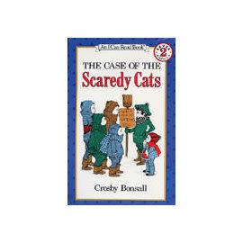 〈汪培珽英文書單〉〈An I Can Read系列:Level 2)The Case of the Scaredy Cats/ 讀本