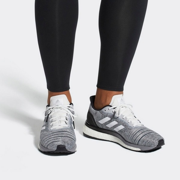 Adidas Solar Drive Running 灰白 編織 慢跑鞋 男 AQ0337 -SPEEDKOBE-