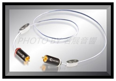 《名展影音》頂級專業線材 荷蘭Crystal Cable 訊號線1米Reference Diamond(Phono with ground wire)三種特規版