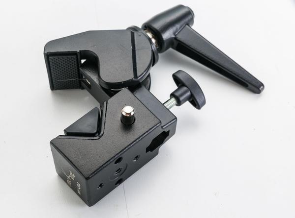 呈現攝影-Meking美鏗 M11-034萬能大夾具 攝影配件 夾管子 桌板 公頭快拆座 1/4孔 工具