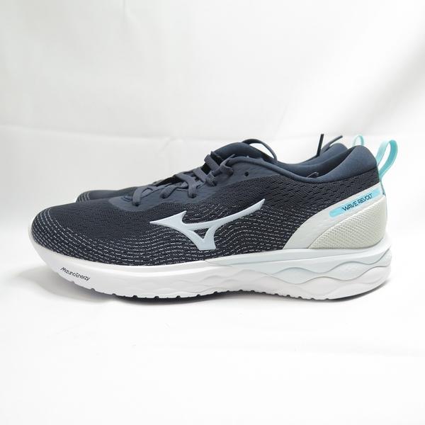 Mizuno WAVE REVOLT 女款 慢跑鞋 J1GD208124 深藍【iSport愛運動】