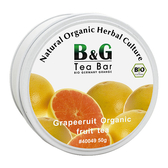 【德國農莊 B&G Tea Bar】有機維也納水果茶 圓鐵罐 (50g)