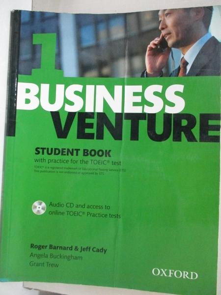 【書寶二手書T3/語言學習_E3O】Business Venture: Student Book Pack Elementary level
