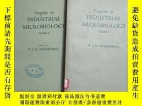 二手書博民逛書店工业微生物学进展罕見第三四卷 progress in industrial microbiologyY4101