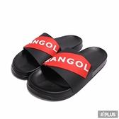 KANGOL 大底 立體 浮雕 防水 拖鞋-6025220121