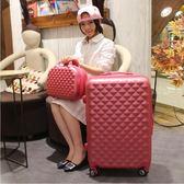 行李箱  拉桿箱萬向輪旅行箱登機箱22吋