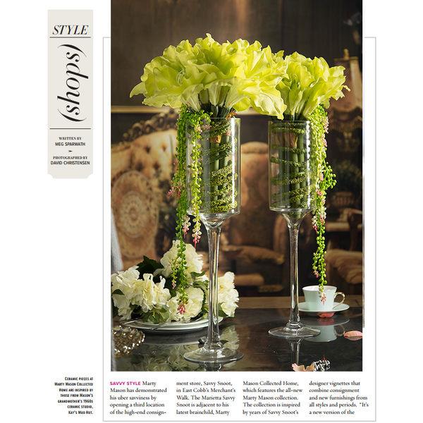模擬花假花 套裝 花藝 客廳餐桌 裝飾花 花瓶花束 -bri02003