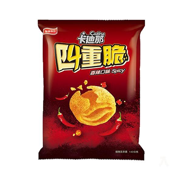 聯華卡迪那四重脆香辣口味142g