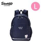 【日本正版】凱蒂貓 兒童背包 L號 後背包 背包 書包 Hello Kitty 三麗鷗 Sanrio - 219904