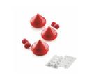 【silikomart】多連矽膠模 - 水滴模